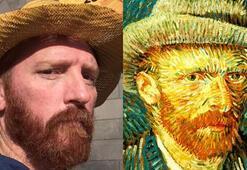 Van Goghla selfie teklifi yoğun ilgiyle karşılandı