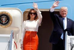 Trump ilk yurt dışı seyahatine çıktı