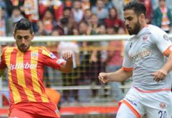 Kayserispor - Adanaspor: 1-1