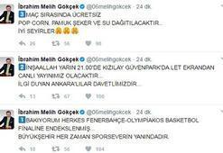 Ankara Büyükşehir Belediyesi'nden Olympiakos maçına dev ekran