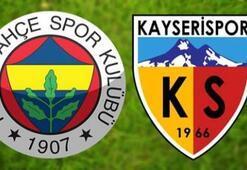 Fenerbahçe Kayserispor maç sonucu: 1-0