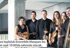 Müzede barok müzik