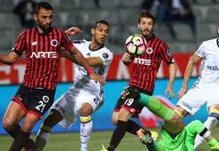 Gençlerbirliği - Fenerbahçe: 1-2 (İşte maçın özeti)