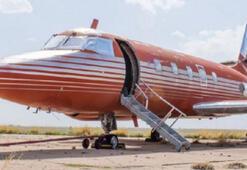 Elvis Presleynin özel jeti satılıyor