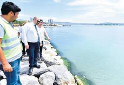 Bayraklı'nın kıyıları yeniden tasarlanıyor