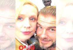 Beckham sosyal medyayı salladı