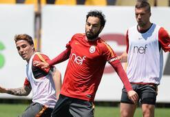 Galatasarayda Aytemiz Alanyaspor maçı hazırlıklarını sürdürdü