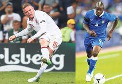 Kilidi hangisi açacak Balotelli mi Rooney mi