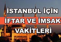 İstanbul için iftar saatleri (İstanbul imsakiye 2017)
