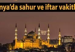 Konyada sahur ve iftar vakitleri (2017 Konya Ramazan İmsakiyesi)