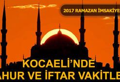 Kocaelide sahur ve iftar vakti saat kaçta (İzmit Ramazan İmsakiyesi 2017)