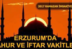 Erzurumda sahur ve iftar saat kaçta (Erzurum Ramazan İmsakiyesi 2017)