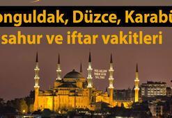 Zonguldak, Düzce, Karabükte sahur ve iftar vakti saat kaçta (Ramazan İmsakiyesi)