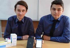 Lise öğrencilerinden görme engellilere ilaç olacak proje