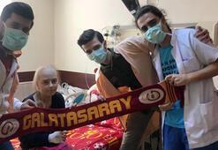Lösemi hastası Cansunun Galatasaray hayali