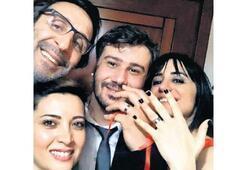 Kızı nişanlandı
