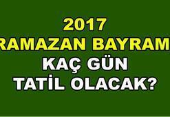 2017 Ramazan Bayramı ne zaman (Bayram tatili ne kadar sürecek)