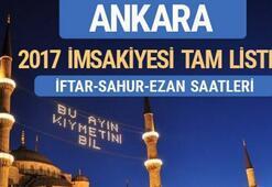 Ankara için iftar saati kaçta - 29 Mayıs Ankara iftar saatleri