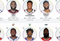 NBA All-Star maçının kadroları belirlendi