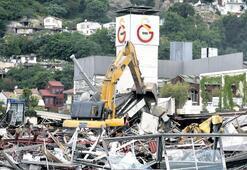 Galatasaray  Adası da yıkıldı