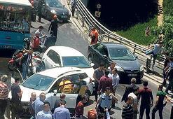 Aşırı hız faciası: İki kişi yaralandı