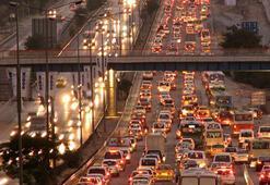 İstanbul trafik sıkışıklığında üst sıralarda