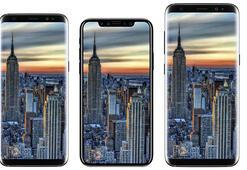 iPhone 8 ve Galaxy S8 serisi yan yana görüntülendi