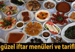Günün iftar menüsü ve yemek tarifleri