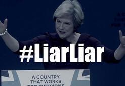 İngiltere Başbakanına yalancı diyen şarkı liste başı