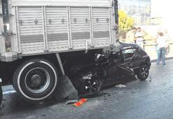 Trafik canavarı iki can aldı, 13 yaralı