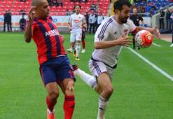 Mersin İdman Yurdu-Gaziantepspor maçından kareler