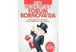 Dev monopoly Forum Bornova'da