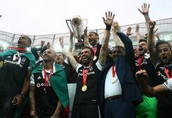 Şampiyon Beşiktaş kupasına kavuştu