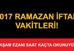 İstanbul, İzmir ve Ankarada iftar saat kaçta - (İl il iftar saatleri ve vakitleri)