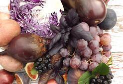Faydası renginde saklı sebze ve meyveler