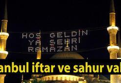 İstanbulda bugün iftar saat kaçta - İşte 6 Haziran İstanbul için iftar saatleri