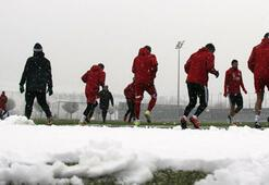 Sivasspor karda çalıştı