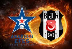 Anadolu Efes Beşiktaş basketbol maçı hangi kanalda