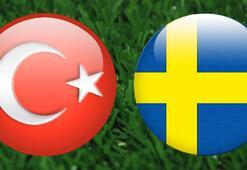 Türkiye İsveç maçı ne zaman, hangi kanalda, saat kaçta