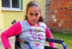 Zehranın tek isteği akülü tekerlekli sandalye