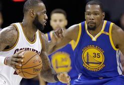 Cavaliers, rekor gecesinde Warriorsı yok etti