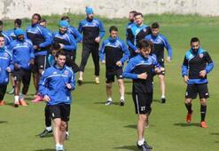 Karabükspor, Boluspor maçının hazırlıklarını sürdürdü