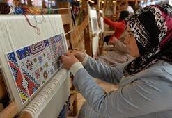 Bursanın ipek halılarına Almanyadan yoğun ilgi