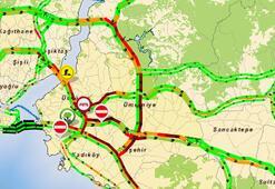 15 Temmuz Şehitler Köprüsündeki çalışma nedeniyle trafikte yoğunluk yaşanıyor
