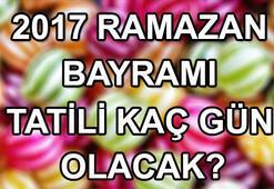 Ramazan Bayramı için geri sayım Bayram tatili kaç gün olacak