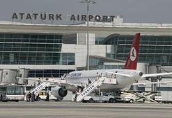 Atatürk Havalimanında uçan balon alarmı