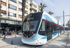 Karşıyaka'da esnafa tramvay ayarı geldi