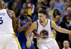 Warriors, Dallas karşısında Klay Thompson sırtladı