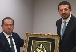 Hidayet Türkoğlu, Türk Telekomun yeni yönetimini kabul etti