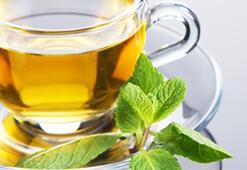 Yeşil çay güneşten koruyor